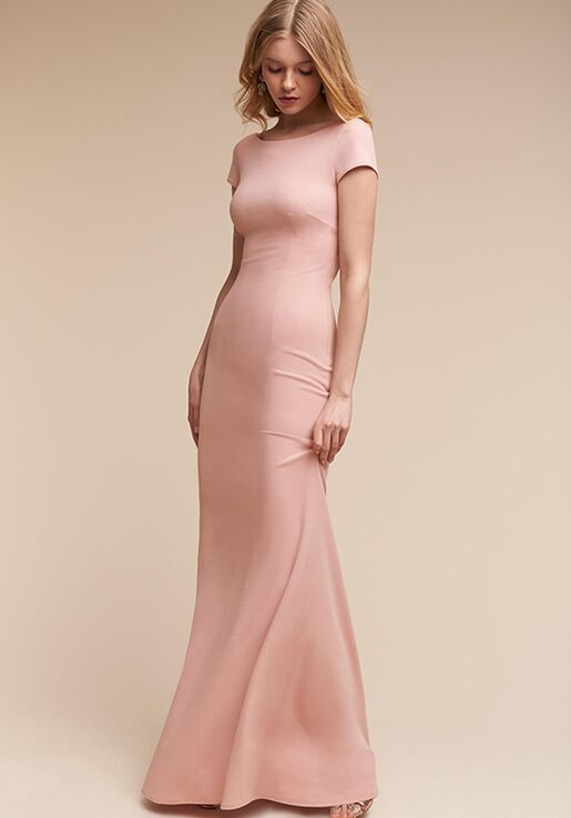 BHLDN (Mother of the Bride) Madison Pink Mother Of The Bride Dress