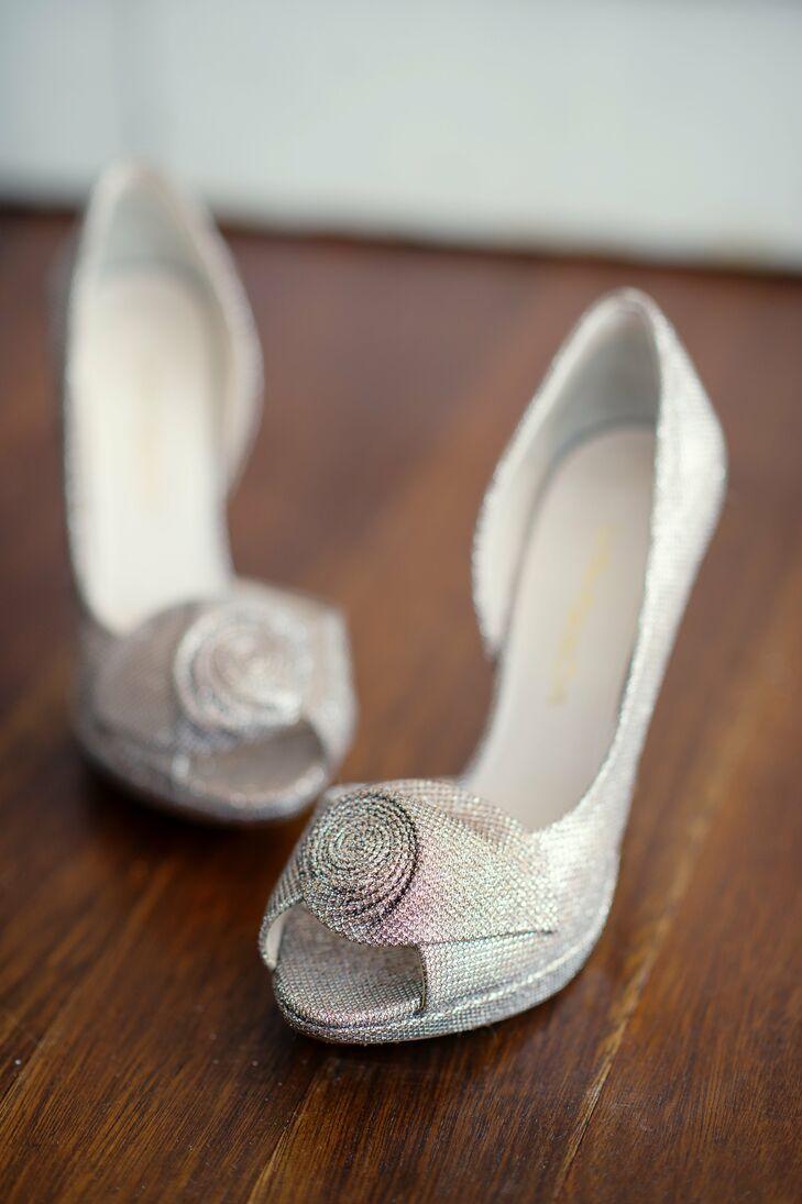 Silver Enzo Angiolini Bridal Shoes 372d52c3d54a