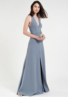Jenny Yoo Collection (Maids) Margot V-Neck Bridesmaid Dress