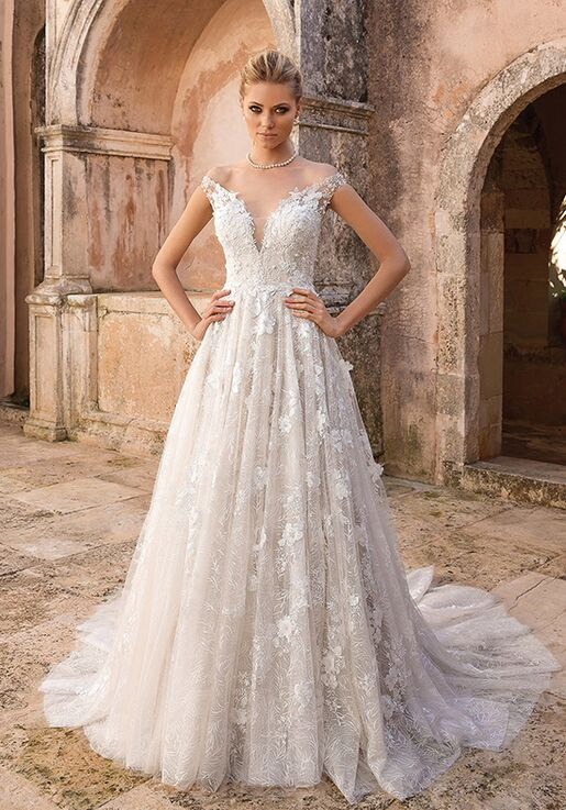 A Line Wedding Dress.88048
