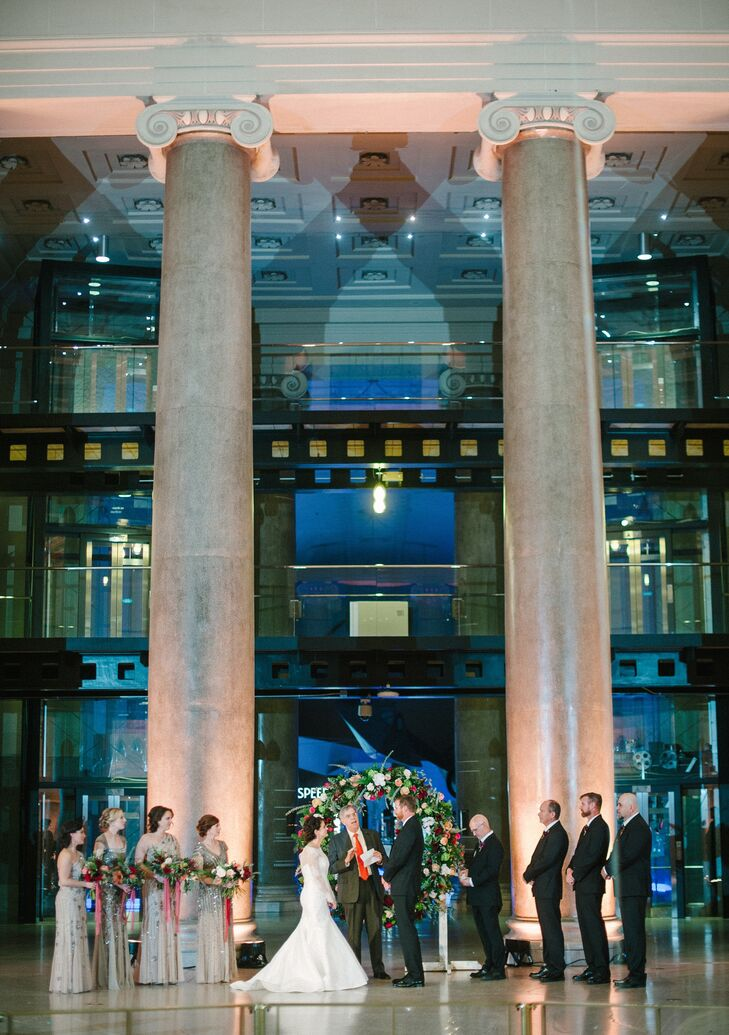 Science Museum Lobby Ceremony