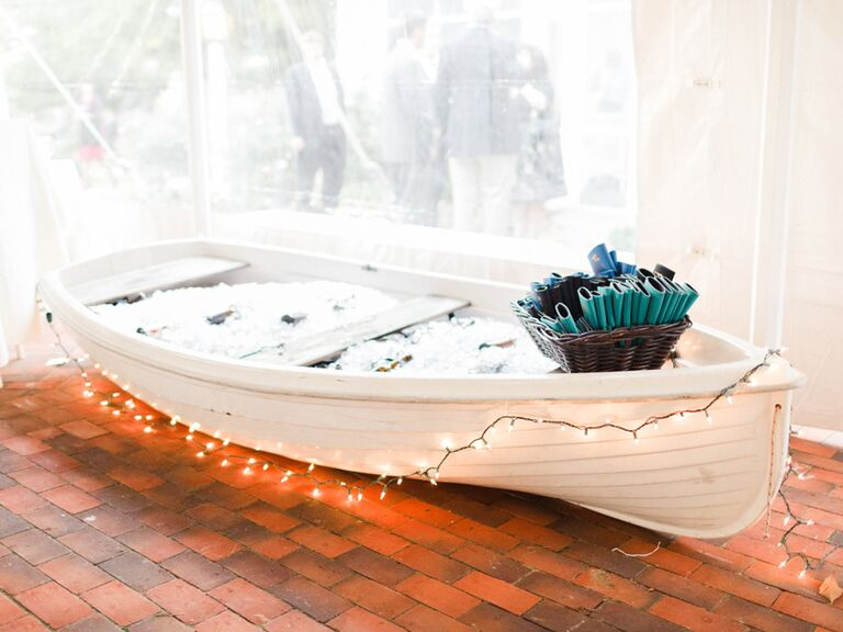Boat full of beer
