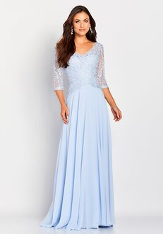 Cameron Blake 119664 Blue Mother Of The Bride Dress