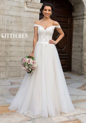 KITTYCHEN HANNAH, H2055 A-Line Wedding Dress