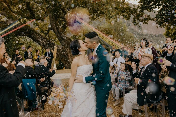 When wedding planner Leah Hwung got married to Justin Lee, she focused on what was most important to them: art, good food and music, nature, friends,