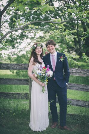 Cassie and Chris's Tented Farm Wedding