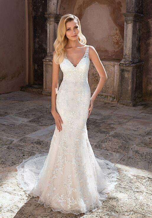 Sheath Wedding Dress.88047