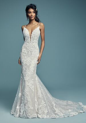 Maggie Sottero Lace Wedding Dress