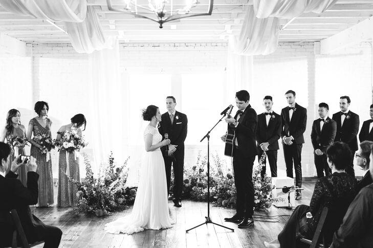 Singing Wedding Vows