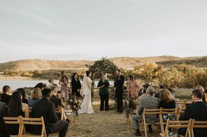 Desert Wedding Ceremony in Marfa, Texas