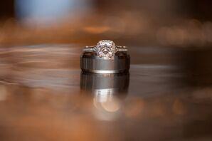 Cushion, Square-Cut Engagement Ring