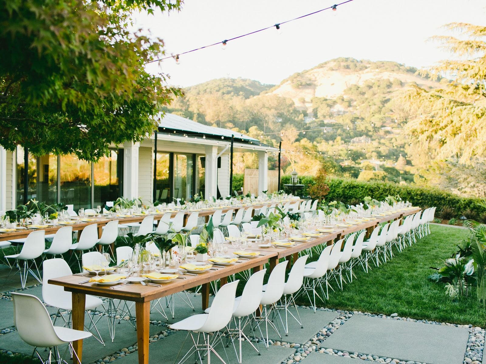 Backyard Wedding Tips How To Plan An At Home Wedding In Your Backyard