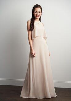 JASMINE P206057 Bateau Bridesmaid Dress
