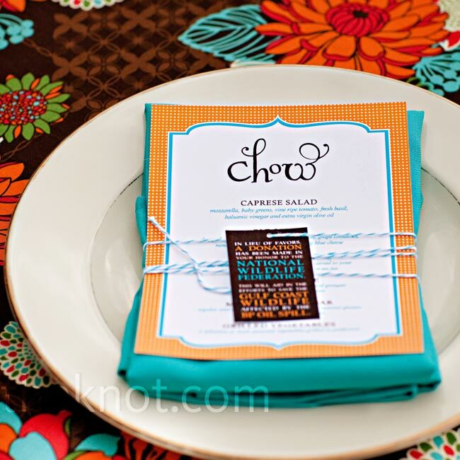 Playful Patterned Place Setting