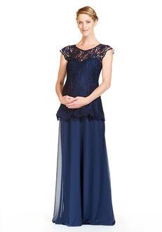 Bari Jay Bridesmaids 1841-M Illusion Bridesmaid Dress