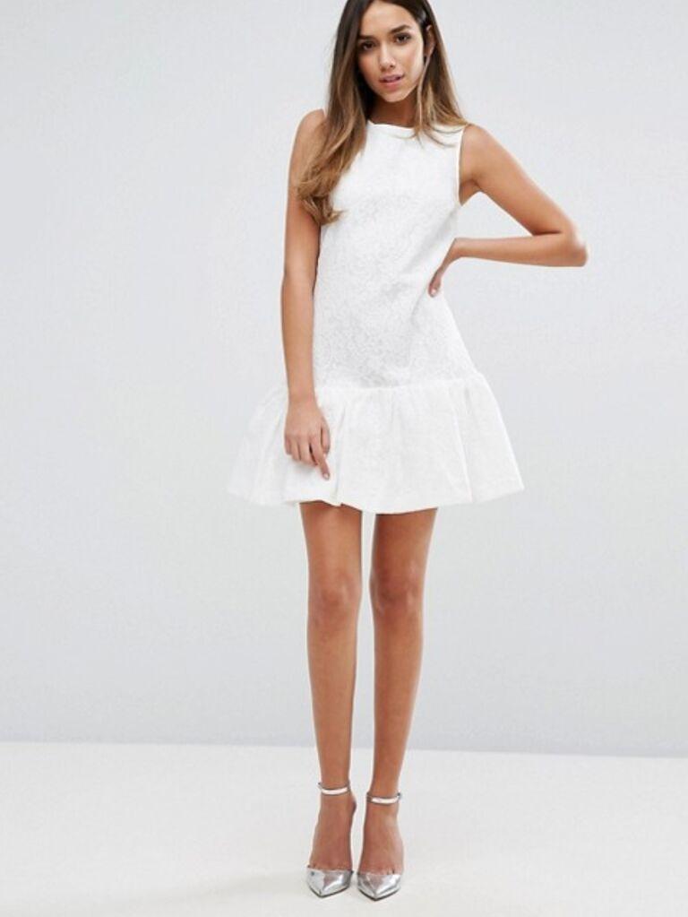 drop waist dress for bridal shower