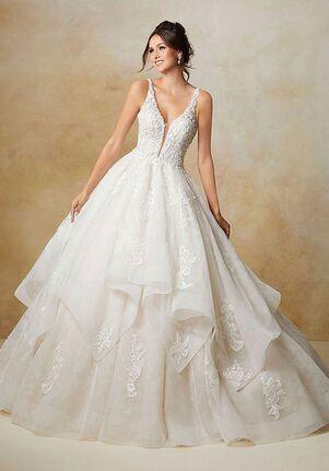 Madeline Gardner Signature Sage Ball Gown Wedding Dress