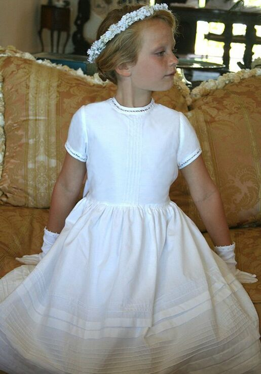 5e41c0b8302 Isabel Garretón Cambridge Flower Girl Dress - The Knot