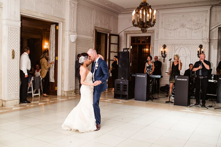 """Matt and Lydia chose """"You Are the Best Thing"""" by Ray LaMontagne as their first-dance song. """"We picked the song because it's classic, sweet and upbeat and made us happy when we heard it and danced to it."""""""