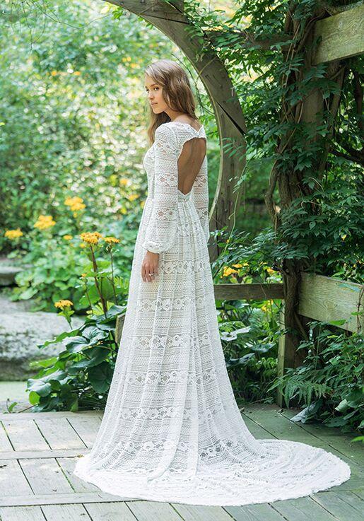 Lillian West 66014 A-Line Wedding Dress