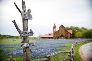 Rustic Old Glory Ranch Wedding Venue