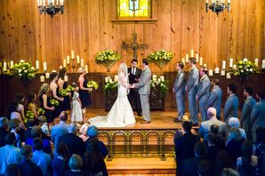 Rustic Decorated Wedding Ceremony