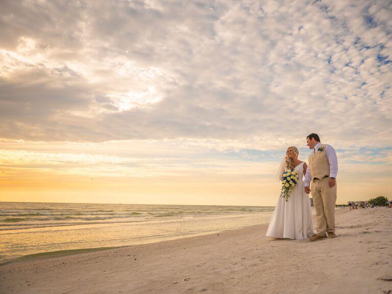 Wedding venue in St. Pete Beach, Florida.