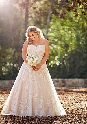 Essense of Australia D2735+ A-Line Wedding Dress