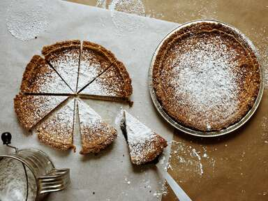 Crack pie made famous by Christina Tosi