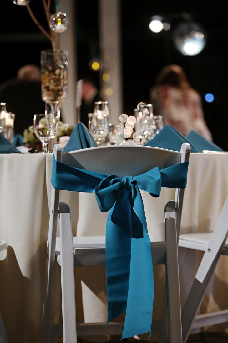Deep Teal Chair Sash