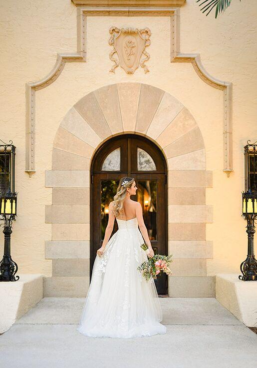 Stella York 7076 A-Line Wedding Dress