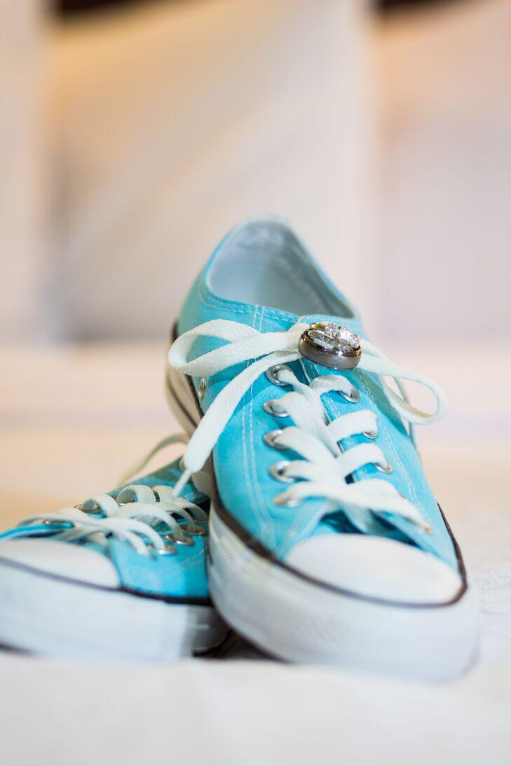 a39d06300d9b Light Blue Converse Wedding Shoes. Favorite.