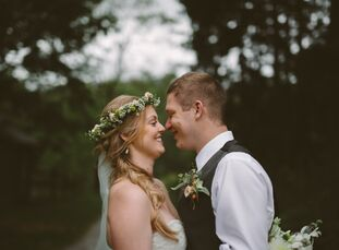 rn                                        Mary Broadland (27 and a geriatric social worker) and Chris Runevitch (27 and a histotechnologist) got their