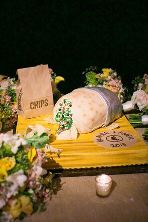Burrito-Inspired Groom's Cake