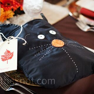 Real Fall Wedding Favors