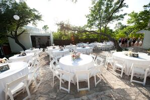 The Allan House Courtyard Reception