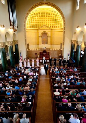 Elegant, Classic Church Ceremony in Austin, Texas