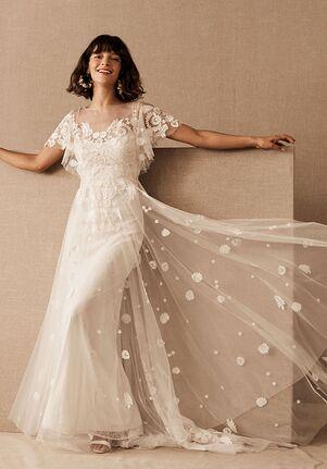 BHLDN Heartleaf Gown (Ivory) A-Line Wedding Dress