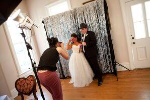 Ivory Enzoani Grace Wedding Dress in Austin, Texas
