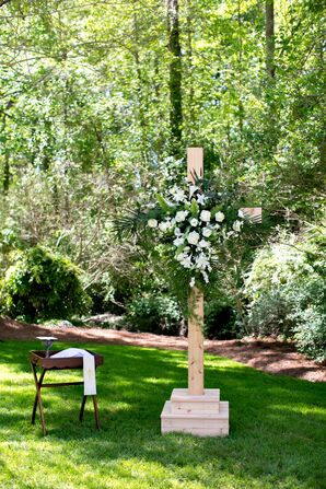 Catholic Backyard Ceremony