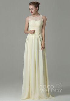 CocoMelody Bridesmaid Dresses COZK16005 Illusion Bridesmaid Dress