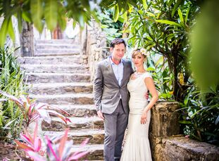 For the couple seeking an adventurous wedding journey, take note of this remote destination wedding. Danielle Grant (32 and a public relations profess