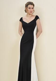 Jade Mother of the Bride by Jasmine J195054 Black Mother Of The Bride Dress