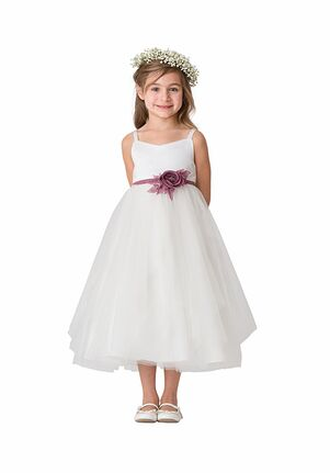 Bari Jay Flower Girls F5116 Pink Flower Girl Dress