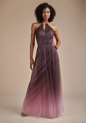 Belsoie Bridesmaids by Jasmine L224063 Halter Bridesmaid Dress