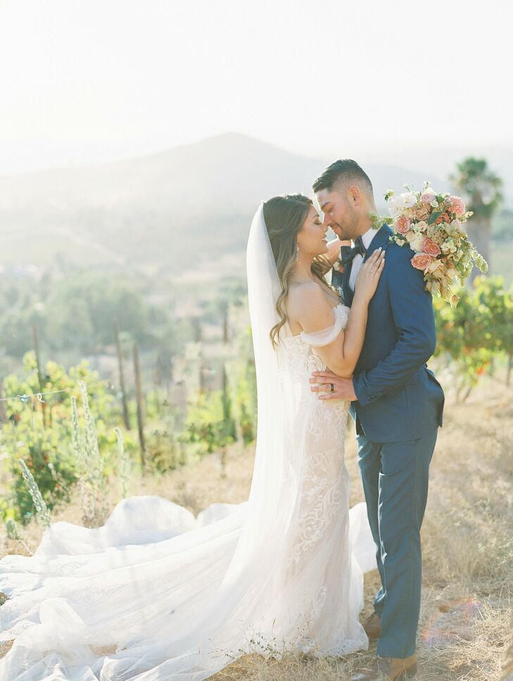 For their wedding, Shae and Ryan took their guests on a trip to Italy without even leaving California. The couple tied the knot at Cordiano Winery in