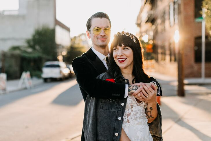 Wedding Portraits at New Liberty Distillery in Philadelphia