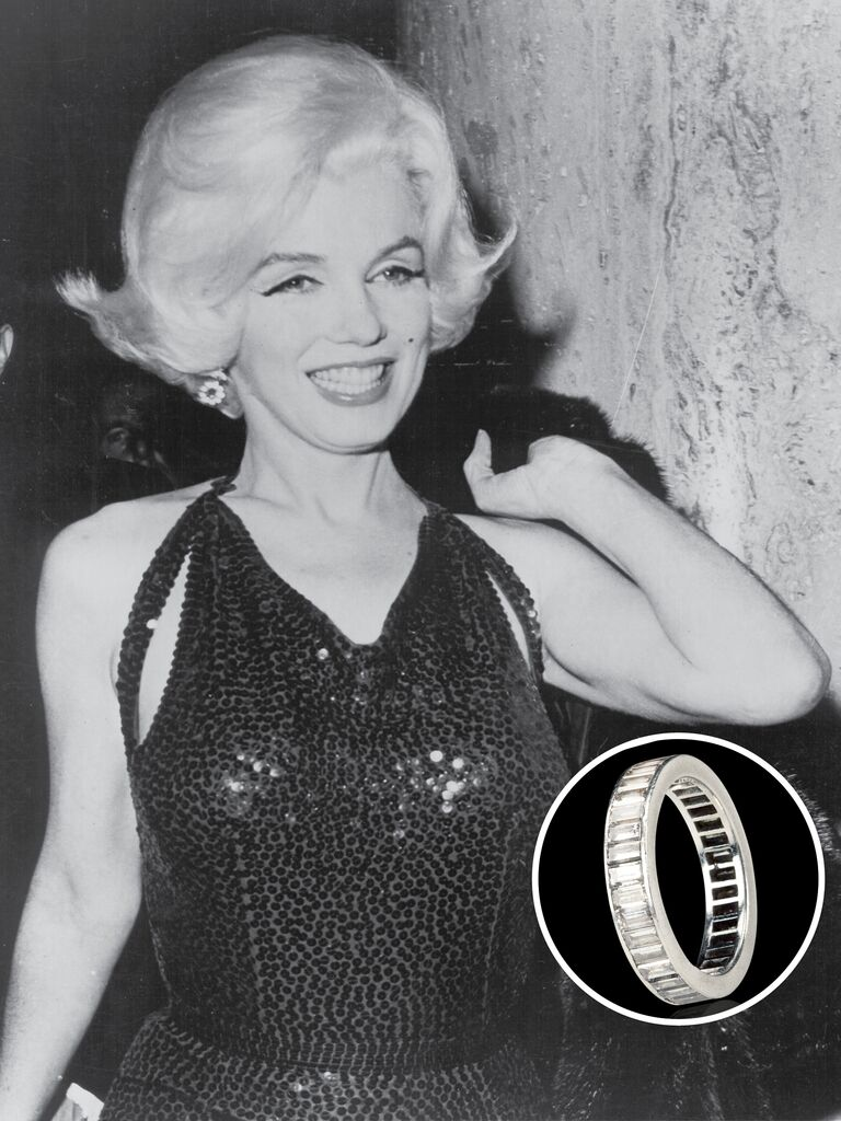 Superior Marilyn Monroeu0027s Engagement Ring From Joe DiMaggio