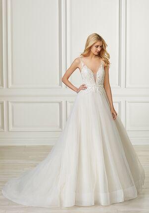 Adrianna Papell Platinum 31102 A-Line Wedding Dress
