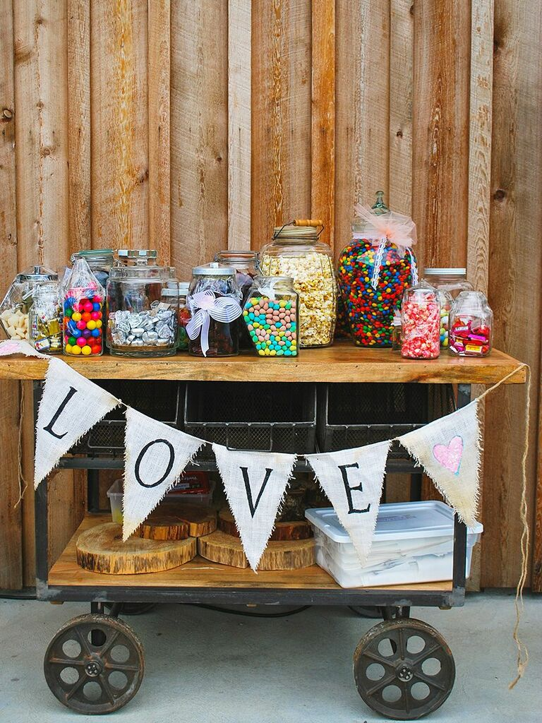 Marvelous Wedding Candy Station Ideas And How To Make Your Own Complete Home Design Collection Epsylindsey Bellcom